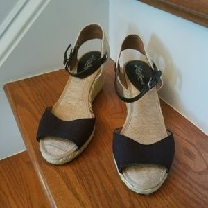 Lucky Brand Kynora  Espadrille Wedge Sandals